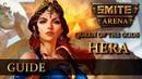 SMITE [GUIDE] - Гера (Hera) ! Гайд, обзор способностей и билд!