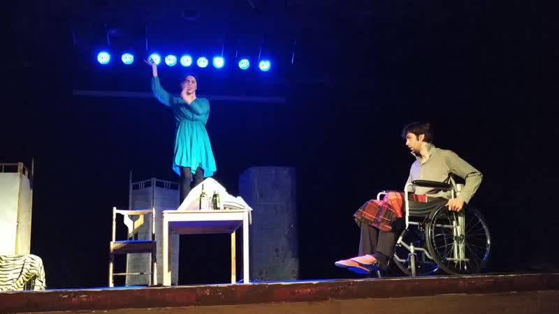 Спектакль Домовой по пьесе Фарида Нагима По пути мужчины-черепахи 2018/12/09