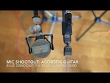 Mic shootout for acoustic guitar Blue Dragonfly v. Blue Hummingbird