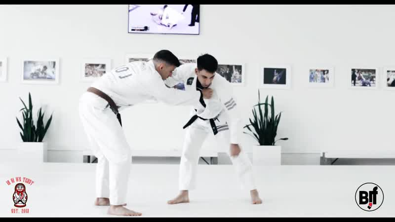 IGWT GUI MENDES - GUARD PULL TO SCISSOR SWEEP bjf_AOJ