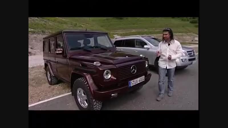 Наши Тесты - Внедорожники Merсedes Benz