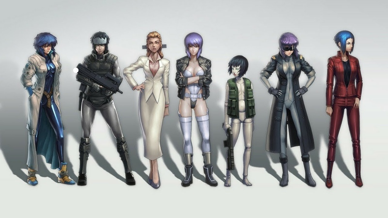 Blue Stahli - Suit Up Ghost In The Shell AMV