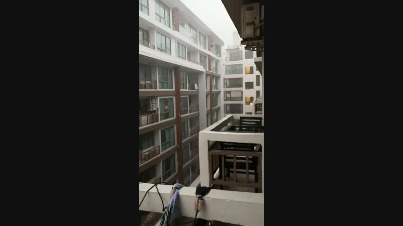 Дождь в Паттае