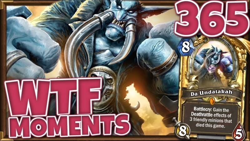 Hearthstone WTF Moments Ep.365