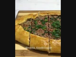 Приготовила вкуснейшее блюдо «Пиде» Делюсь с Вами рецептом,как готовлю его я