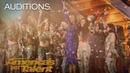 Zurcaroh Golden Buzzer Worthy Aerial Dance Group Impresses Tyra Banks America's Got Talent 2018