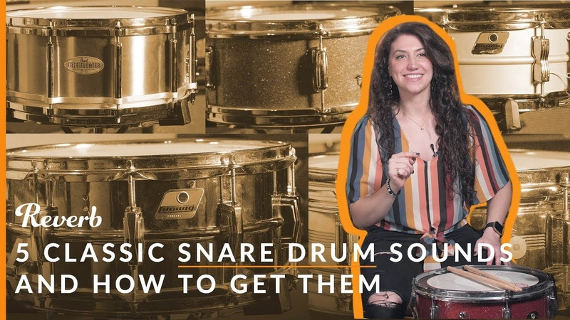 5 Classic Snare Drum Sounds and How to Get Them Reverb