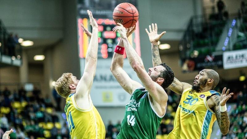 VTBUnitedLeague • Zielona Gora vs Astana Highlights Oct 29, 2018