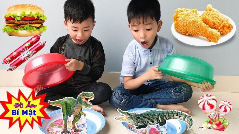Trò Chơi Đồ Ăn Bí Mật ❤ Min Min TV Minh Khoa ❤ Trò Chơi Trẻ Em