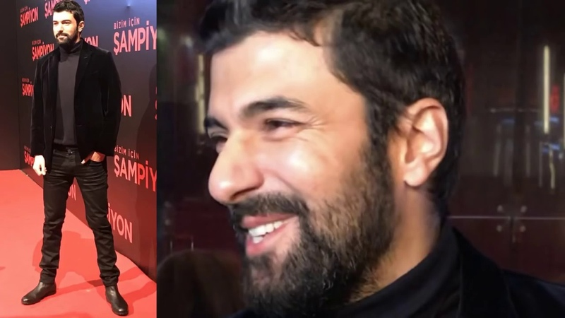 Ünlü oyuncu Engin Akyürek at the Gala Premiere of Şampion movie