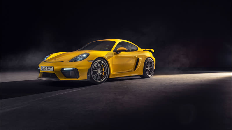 The new Porsche 718 Cayman GT4. Product highlights.
