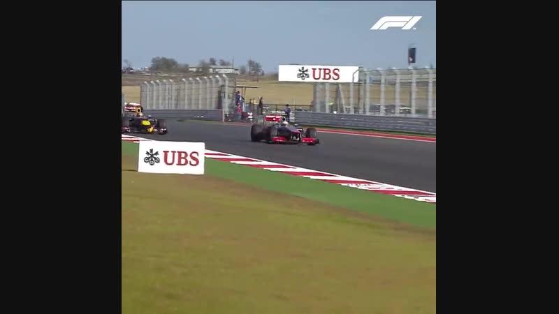 Хэмилтон вырывает победу у Феттеля Гран-при США Формула-1 2012