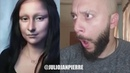 Mona Lisa Make Up Reaction - By Julio Janpierre