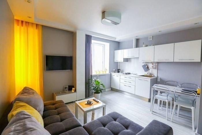 Интерьер квартиры 35 кв.