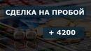 Сделка на пробой Скальпинг на московской бирже Обучение трейдингу