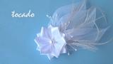DIY Tocado novia - Headdress bride -