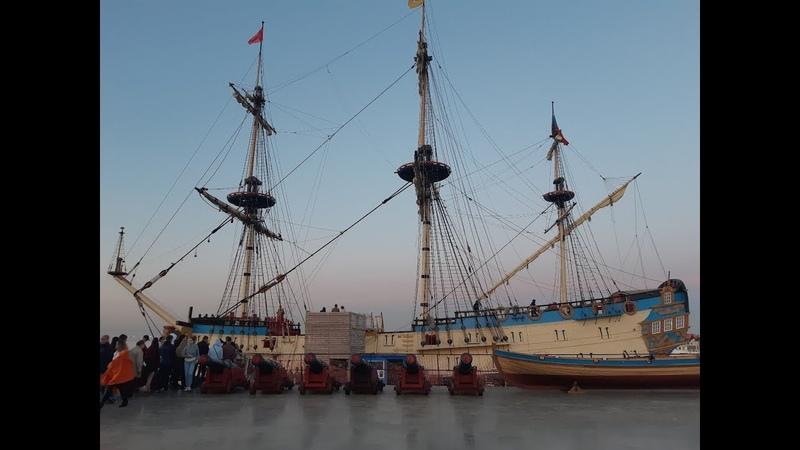Корабль-музей Полтава и залп из пушки, СПб. Ночь музеев 19. Последнее видео