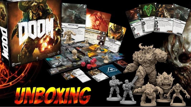 Doom: Анбокс обзор миниатюр