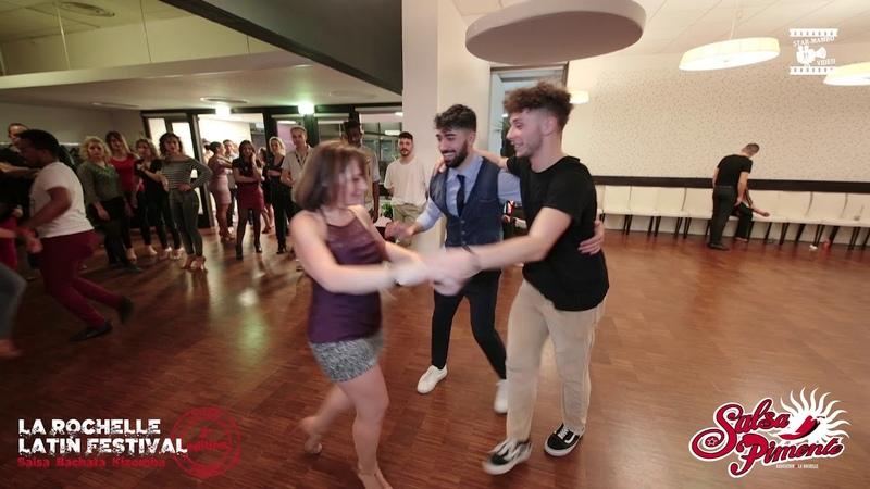 Antonio, Stefano Estelle - bachata social dancing @ LA ROCHELLE LATIN FESTIVAL SBK