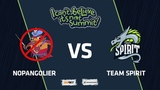 NoPangolier vs Team Spirit, Game 1, Grand Final, I Can't Believe It's Not Summit