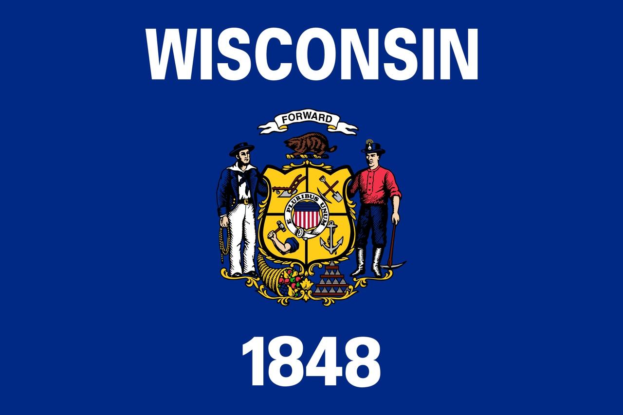 Флаг Висконсин