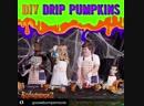 Goosebumps cast paint pumpkins