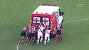 Ambulância enguiçou e jogadores de Vasco e Flamengo tiveram que empurrar