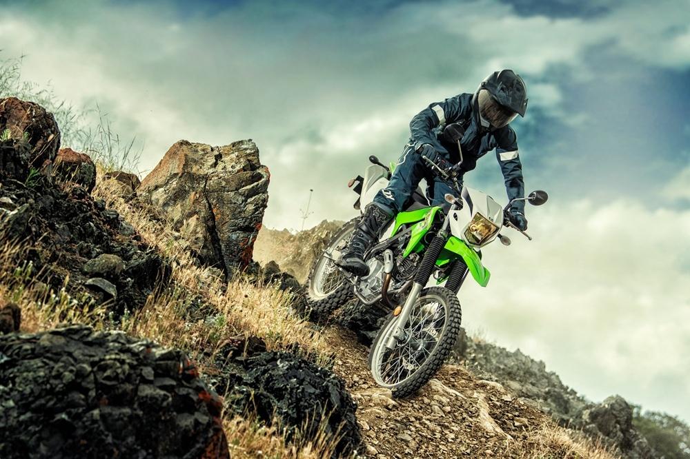 Дуал-спорт Kawasaki KLX230 2020
