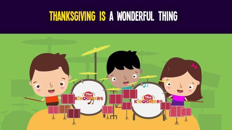 Thanksgiving Is a Wonderful Thing Song for Kids   Thanksgiving Songs for Children   The Kiboomers