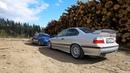 ЯНГТАЙМЕРЫ в Карелии   BMW M3 E36, Alfa Romeo 147 GTA, Porsche 964, Lancia Delta Integrale