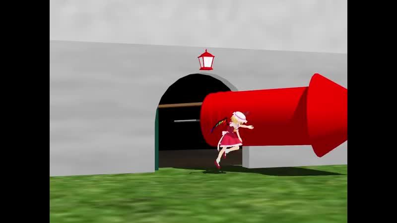 【再現MMD】霊夢とレミリアのT&J 『花火はすごいぞ』ごっこ_Full ( 720 X 960 ).mp4