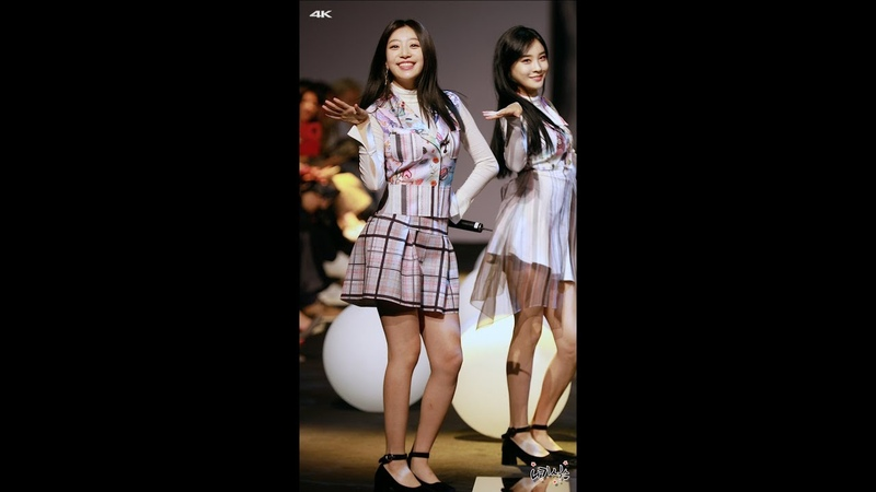 FANCAM 181019 SONAMOO Sumin focus I Like U Too Much @ 2019 S S HERA Seoul Fashion Week CHOI BOKO Collection