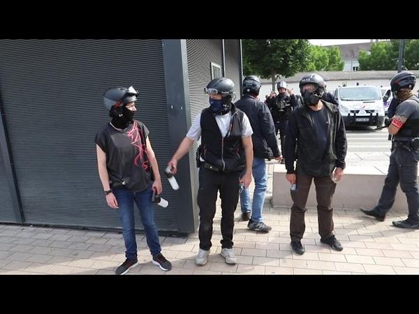 Mange merde cassos pouilleux etc La police nationale insulte la population à Dijon
