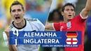 🔥 Германия - Англия 4-1 - Обзор Матча 1/8 Финала Чемпионата Мира 27/06/2010 HD 🔥