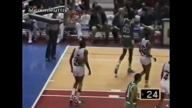 1987: Larry Bird hits multiple game-winners in same game