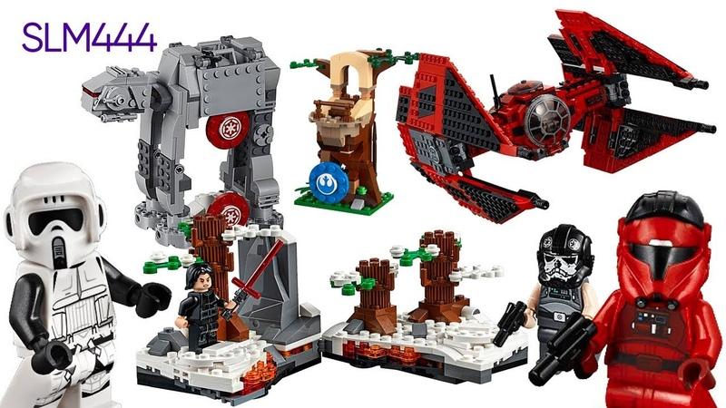 NEW LEGO STAR WARS 2019 Sets Review ОБЗОР Новинок Апреля ЛЕГО КОНКУРС
