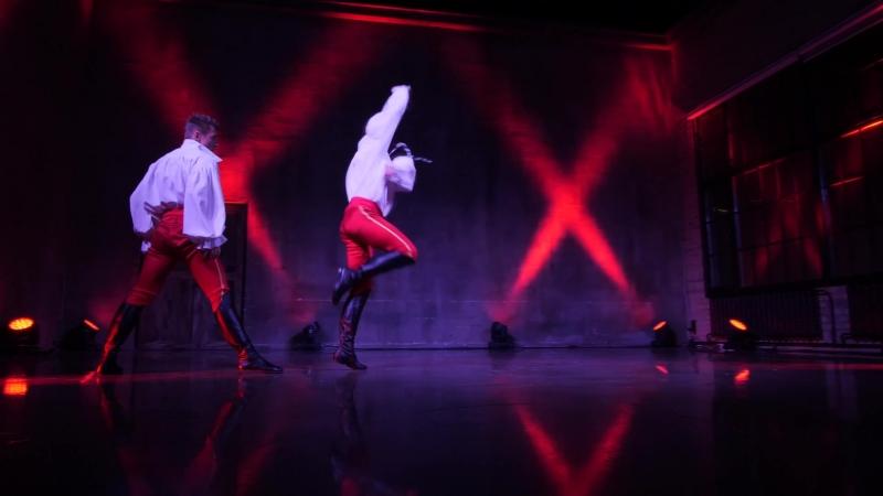 Русский MIX Фрагмент из программы Танец с саблями Ойся ты ойся