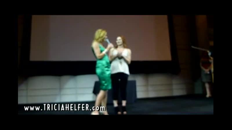 Tricia Helfer and Katee Sackhoff - Fur Ball at the Skirball 9.11.10 BSG Voicemai