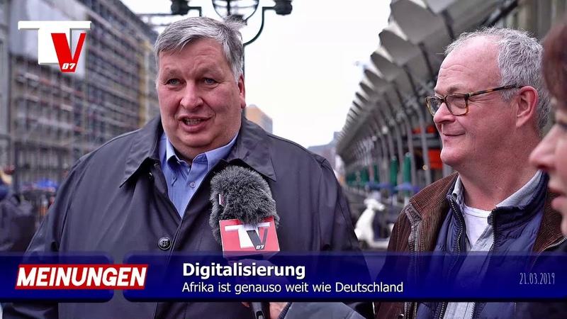 DIGITALISIERUNG Deutschland ist Dritte Welt Land
