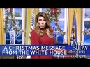 White House Christmas Message Featuring Melania Trump