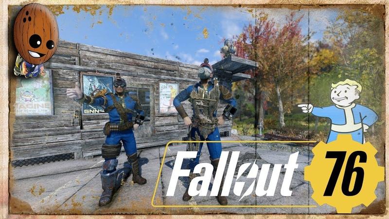 Fallout 76 Прохождение 2➤Жажда превыше всего Мы Волонтеры спасатели