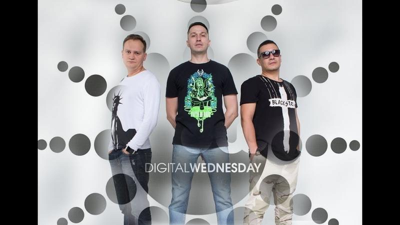 Digital Wednesday - интервью у SKAM, Well Done, Aerofils, Plastic Sound и ANGY Kore