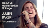 Julien Baker Performs Appointments Pitchfork Music Festival 2018