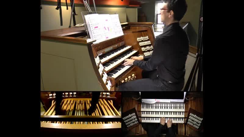 849 J. S. Bach / Max Reger - Prelude and Fugue in C-sharp minor, BWV 849 [Das Wohltemperierte Klavier 1 N. 4] - Rudolf Müller