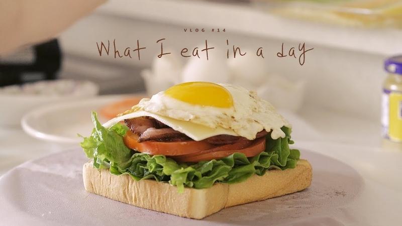 [SUB] VLOG 14 하루세끼, BELT샌드위치와 고등어조림 : What I eat in a day, Sandwich and Braised fish | Honeykki 꿀키