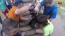 В Ярославле ребенок застрял ногой в детской горке