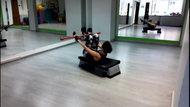 Упражнение с бодибаром