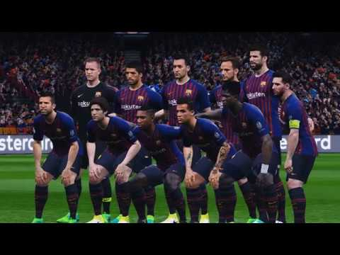 Barcelona vs PSV Eindhoven | UEFA Champions League 2018 | Camp Nou | PES 2017