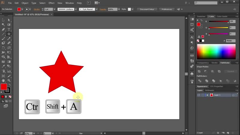 [2][116.70 G] how to change the number of points on a star in adobe illustrator