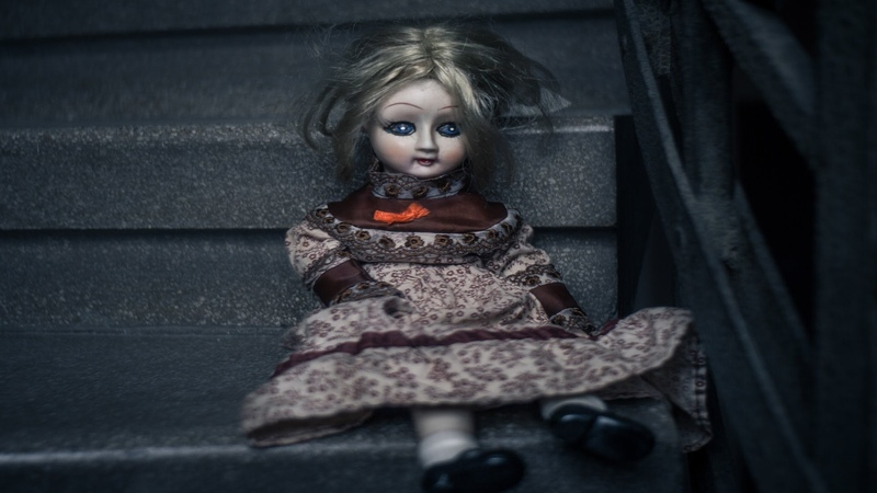Scary Halloween Music Creepy Doll Music, Instrumental Horror Music, Dark Music ♪3